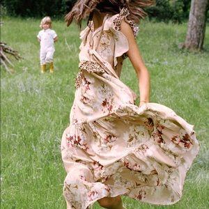 Anthropologie Kachel Sedona Sunrise Maxi Dress 6
